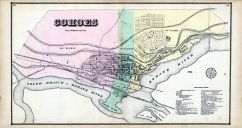 Cohoes, Albany and Schenectady Counties 1866