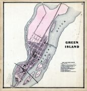 Green Island, Albany and Schenectady Counties 1866