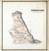 Niskayuna, Albany and Schenectady Counties 1866