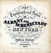 Title Page, Albany and Schenectady Counties 1866