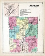 Alfred, Bakers Bridge, Allegany County 1869