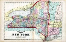 New York State Plan Map, Allegany County 1869