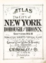 Title Page, Bronx 1911