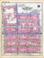 Plate 010 - Section 9, 10, Bronx 1928 South of 172nd Street