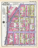 Plate 043 - Section 10, Bronx 1928 South of 172nd Street
