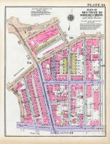 Plate 059 - Section 10, Bronx 1928 South of 172nd Street
