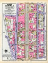 Plate 105 - Section 11, Bronx 1928 South of 172nd Street