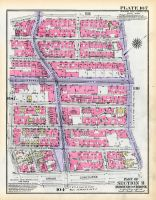 Plate 107 - Section 11, Bronx 1928 South of 172nd Street