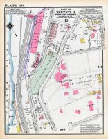 Plate 110 - Section 11, Bronx 1928 South of 172nd Street