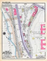 Plate 114 - Section 11, Bronx 1928 South of 172nd Street
