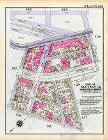 Plate 133 - Section 12, Bronx 1928 South of 172nd Street