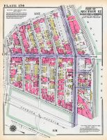 Plate 134 - Section 12, Bronx 1928 South of 172nd Street