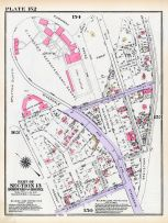 Plate 152 - Section 13, Bronx 1928 South of 172nd Street