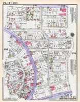 Plate 158 - Section 13, Bronx 1928 South of 172nd Street