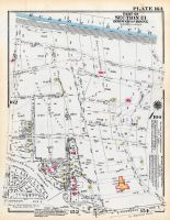 Plate 163 - Section 13, Bronx 1928 South of 172nd Street