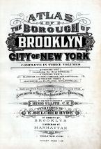 Title Page, Brooklyn 1916 Vol 1 Part 1 Revised 1921
