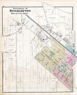 Binghamton - West Extension, Broome County 1876