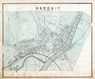 Deposit, Broome County 1876