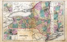 State Map of New York, Broome County 1876
