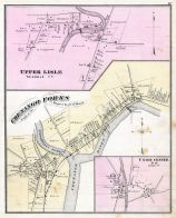 Upper Lisle, Chenengo Forks, Union Center, Broome County 1876
