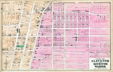 Eleventh and Seventh Wards, Buffalo 1872