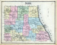 Scipio Cayuga County 1875 New York  map online