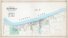 Aurora Village, Cayuga County 1904