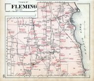 Fleming Town, Cayuga County 1904