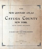 Title Page, Cayuga County 1904