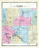 Clymer Township, Kings Corner, Brokenstraw Creek, Chautauqua County 1881