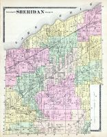 Sheridan Township, Lake Erie, Joint, Chautauqua County 1881