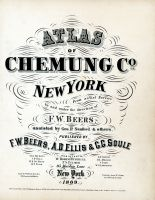 Title Page, Chemung County 1869