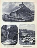 R. W. Adams, Steam Saw Mill, Ausable Chasm, Birmingham Falls
