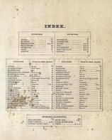 Index Page, Clinton County 1869