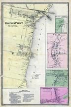 Rouses Point, Chazy Landing, Coopersville, Perrys Mills, Clinton County 1869