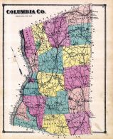 County Map, Columbia County 1873