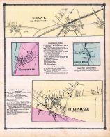 Ghent, Harlemville, Green River, Hillsdale, Columbia County 1873