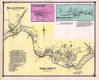 Mellenville, Churchtown, Hollowville, Philmont, Columbia County 1873