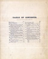 Table Of Contents, Delaware County 1869