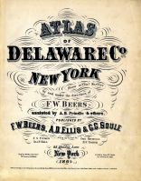 Title Page, Delaware County 1869