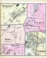 Beekmanville, Pouquag, City, Green Haven, New Hamburg, Dutchess County 1876