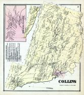 Collins, Collins Center, Erie County 1866