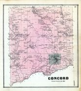 Concord, Erie County 1866