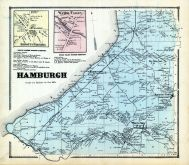 Hamburgh, Abbotts Corners, Water Valley, Erie County 1866