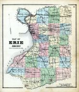 Index Map, Erie County 1866