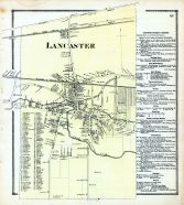 Lancaster, Erie County 1866