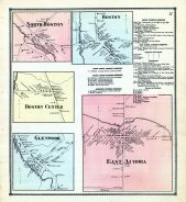 North Boston, Boston Center, Glenwood, East Aurora, Boston, Erie County 1866