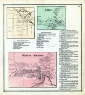 Pontiac, Eden, Whites Corners, Erie County 1866