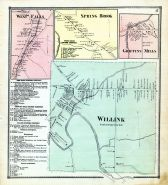 Willink, West Falls, Spring Brook, Griffins Mills, Erie County 1866