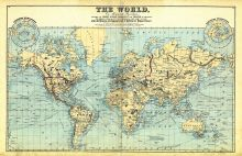 The World Map, Erie County 1880